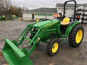 2018 JOHN DEERE 4044M TRACTOR WITH LOADER