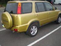 HONDA CRV 2000 automatic petrol