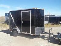 CARGOMATE  6X10 E SERIES BLACK V NOSE WITH RAMP $4500.00