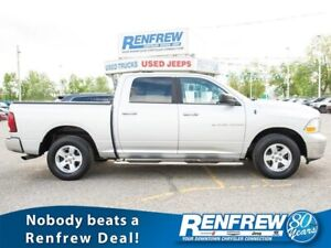 2012 Ram 1500 4WD Crew Cab SLT, RENFREW CASH FOR CLUNKERS UP TO
