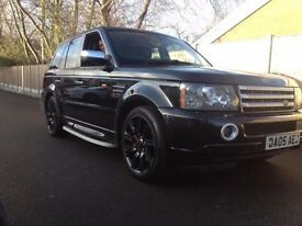Range rover sport v8 supercharged cheap motor 4x4 jeep land rover rangerover sport reduced car