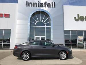 2015 Chrysler 200 C Loaded Leather Sunroof Heated Seated Acciden