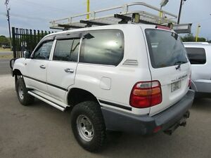 2000 Toyota Landcruiser FZJ105R GXL White 4 Speed Automatic Wagon Reynella Morphett Vale Area Preview
