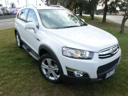 2012 Holden Captiva CG MY12 7 LX (4x4) White 6 Speed Automatic Wagon Greenway Tuggeranong Preview