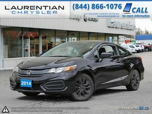 2014 Honda Civic Coupe EX-5-SPEED MANUAL!