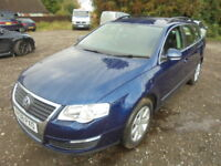 Volkswagen Passat 1.9 TDI SE. FULL SERVICE HISTORY, TIMING BELT CHANGED. (blue) 2008