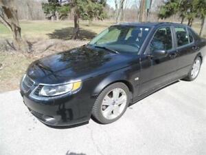 2007 Saab 9-5 Auto,Loaded ,Leather, Gas Saver,155k , Clean $2650
