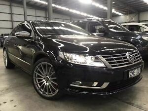 2012 Volkswagen CC Type 3CC MY12.5 V6 FSI DSG 4MOTION Black 6 Speed Sports Automatic Dual Clutch Port Melbourne Port Phillip Preview