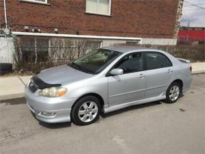 2006 TOYOTA COROLLA S- automatic- 122 000km- IMPECABLE-  4800$