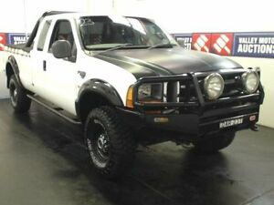 2002 Ford F250 RM XL (4x4) White 5 Speed Manual Super Cab Pick-up Cardiff Lake Macquarie Area Preview