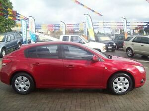 2012 Holden Cruze JH MY12 CD Red 5 Speed Manual Hatchback