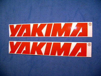 Yakima racks  decals stickers for sale  Shipping to India