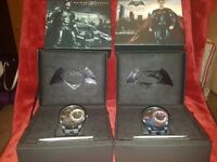 Limited edition Police Batman v Superman watches