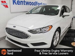 2018 Ford Fusion SE FWD with keyless entry, power seats, push st