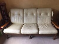 Settee and matching chairs