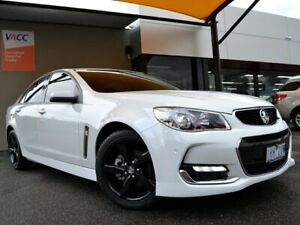 2016 Holden Commodore VF II MY16 SV6 White 6 Speed Sports Automatic Sedan Fawkner Moreland Area Preview