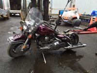 1996 HARLEY ROAD KING FLHR POUR PIECES SEULEMENT