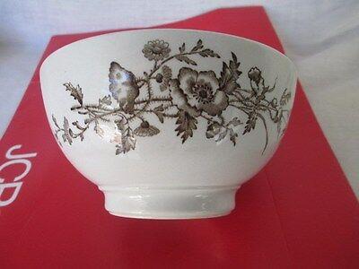 J & G  Meakin  Ironstone Mush Bowl * 1890's Royal ARMS * ESSEX Hanley England