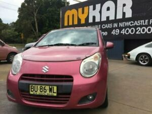 2013 Suzuki Alto GFMY13 GL Pink 5 Speed Manual Hatchback