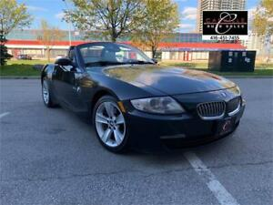 2007 BMW Z4 3.0 SI CONVERTIBLE SPT PKG  MUST SEE HEATED SEATS
