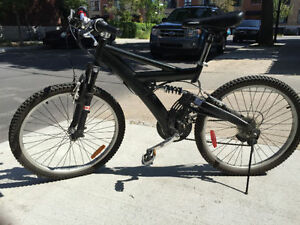 "24"" mountain bike full suspension - excellent condition"
