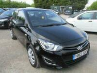2012 62 HYUNDAI I20 1.2 CLASSIC 3DR LOW MILES AND ROAD TAX AIRCON CD