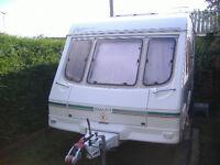 caravan Swift Fairway 460 two berth 2 berth motor mover CRiS reg 2001