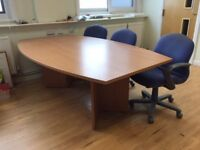 Meeting room table, very good condition