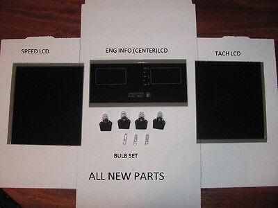 1984 C4 Corvette Digital Dash Gauge Instrument Cluster LCD LED Set  NEW!