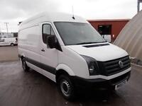 Volkswagen Crafter CR35 MWB 2.0 109PS HIGH ROOF EURO 5 DIESEL MANUAL (2015)