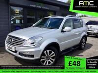 2014 Ssangyong Rexton W 2.0TD 4X4 T-Tronic EX **Full Ssangyong Service History**