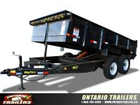 Big Tex 14LX Tandem Axle Low Profile Extra Wide Dump