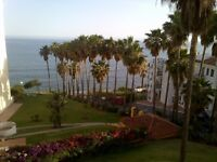 One bed flat on beach Capobino Marbella sold vacant or tenanted. Views to North Africa and Morro