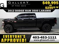 2012 RAM 3500 DIESEL LIFTED *EVERYONE APPROVED* $0 DOWN $299/BW!