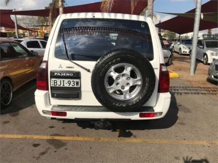 2005 Mitsubishi Pajero NP MY05 GLS White 5 Speed Sports Automatic Wagon Minchinbury Blacktown Area Preview