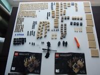Lego Minecraft Micro World - The End - (21107) complete +box and instructions