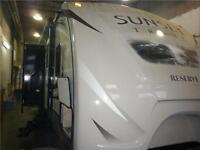 NEW 2015 CROSSROADS RV SUNSET TRAIL ST26RB TRAVEL TRAILER