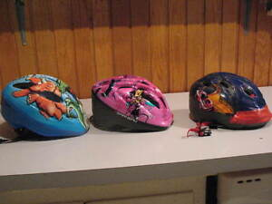 Bicycle helmets for children and youth
