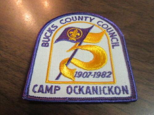 Camp Ockanickon 1982 Pocket Patch       c43