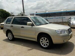 2005 Subaru Forester MY05 XS Gold 4 Speed Automatic Wagon