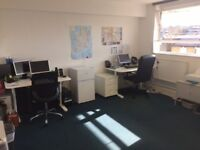 Desk Space / Office share – Wimbledon £150 PCM