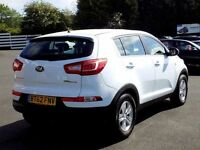 KIA SPORTAGE 1.7 CRDi 1 5dr 114 BHP * Great Value Diesel MPV * (white) 2013