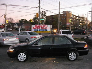 **2002 Honda Accord** Special Editon Sunroof, A/C Cert &e-tested