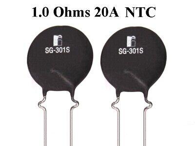 2pcs New 1.0 Ohm 20a Ntc Power Thermistor Inrush Surge Current Limiter