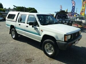 1994 Mitsubishi Triton MJ Double Cab White Manual Utility Townsville Townsville City Preview