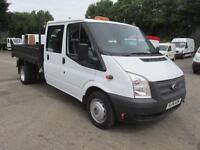 Ford Transit 350 LWB D/Cab Tipper Tdci 100Ps [Drw] Euro 5 DIESEL MANUAL (2014)