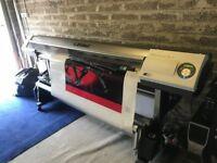 Roland Rs 640 Printer not muto or mimaki Good working machine