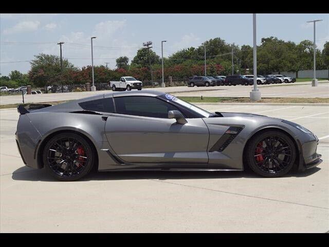2016 Gray Chevrolet Corvette Z06    C7 Corvette Photo 2