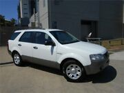 2007 Ford Territory SY TS AWD White 6 Speed Sports Automatic Wagon Southport Gold Coast City Preview