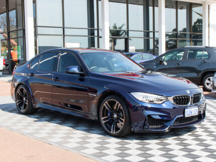 2016 BMW M3 F80 LCI M-DCT Blue 7 Speed Sports Automatic Dual Clutch Sedan Alfred Cove Melville Area Preview